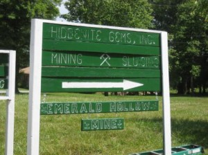 Emerald Hunt Hiddenite Mine Entrance