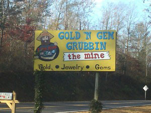 Gold n Gem Grubbin Entrance