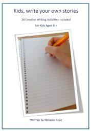 Mel Toye Kids Write Cover