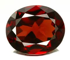 Gemstones Faceted Garnet