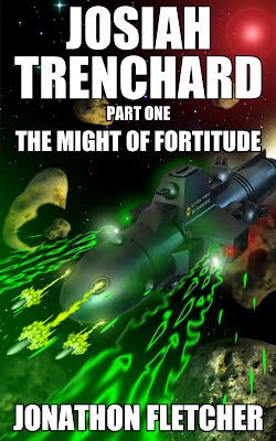 Space Navy The Might of Fortitude Cover Josiah Trenchard