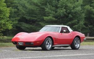 Beebop's Corvette Convertible