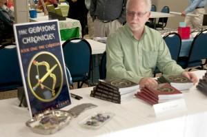 Table at Dahlonega Literary Festival