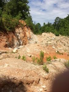 Hogg Mountain Mine Pit