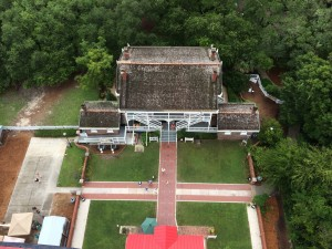 St. Augustine Keeper's House from Lighthouse