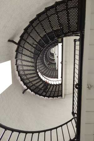 St. Augustine Spiral staircase