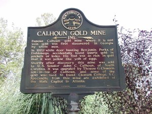 Calhoun Mine Historical Marker