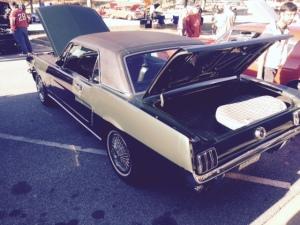 Suwanee Classic Car Show Mustang