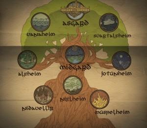 Yggdrasil 9 Worlds