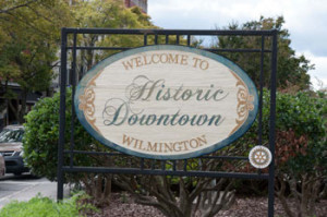 Wilmington Welcome Sign