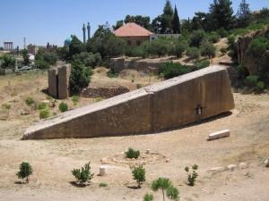 Baalbek megalith