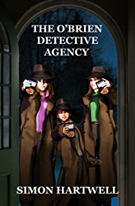The O'Brien Detective Agency by Simon Hartwell Cover
