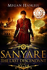 Sanyare The Last Descendant by Megan Haskell Cover
