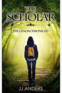 The Scholar by JJ Anders Cover