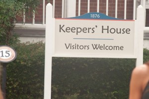 Keeper's House sign at St. Augustine Lighthouse