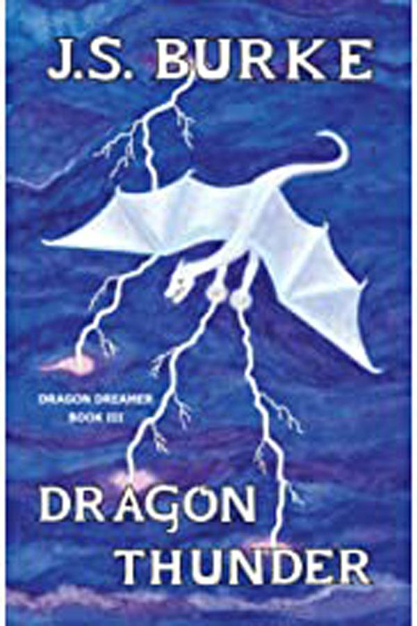 Dragon Thunder by J. S. Burke Cover