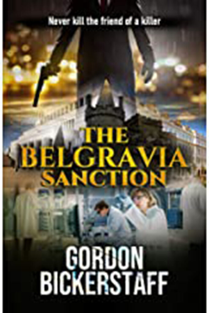 The Belgravia Sanction by Gordon Bickerstaff Cover