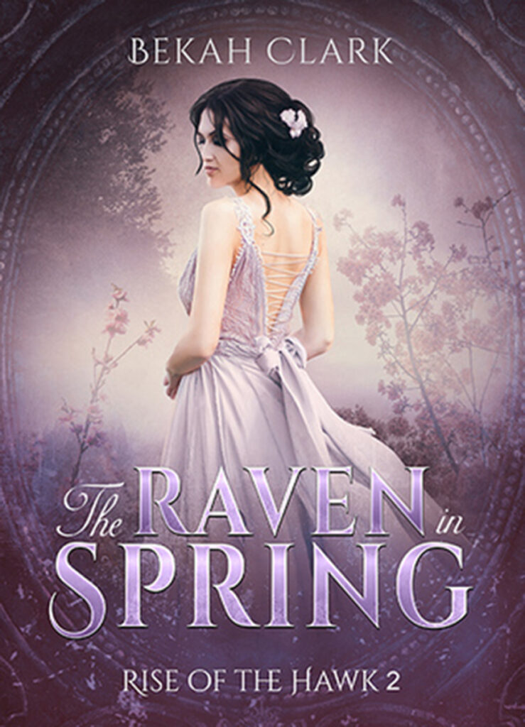 The Raven in Spring by Bekah Clark Cover